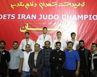 عنوان سومی جودو کار بوشهر در مسابقات قهرمانی نوجوانان کشور