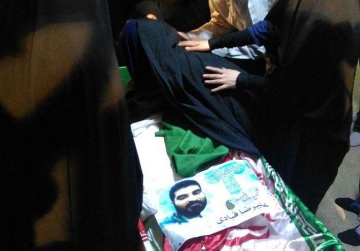 تعرض به مادر شهید مدافع حرم